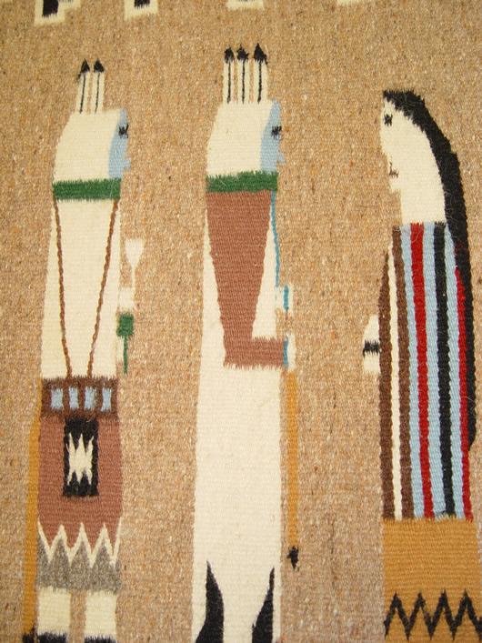 Yeibichai Navajo Rug