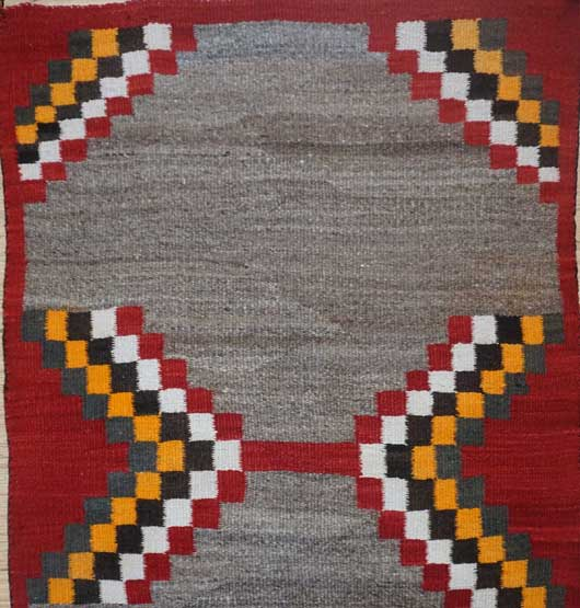 Navajo Saddle Blanket 1091 Photo 002