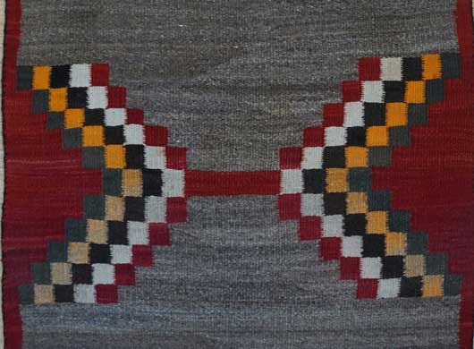 Navajo Saddle Blanket 1091 Photo 003