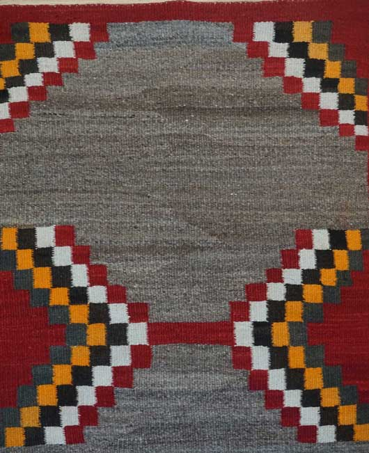 Navajo Saddle Blanket 1091 Photo 001