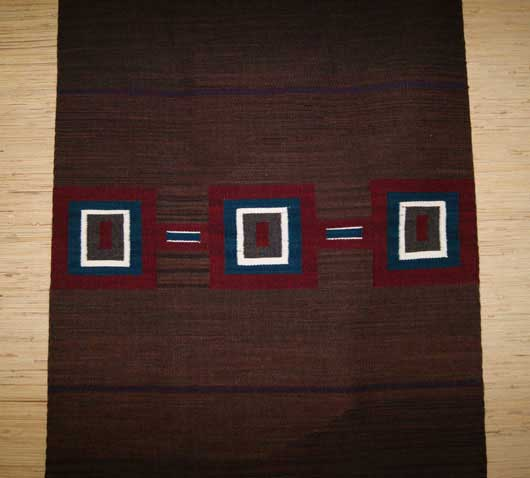 Navajo Second Phase Chief Blanket Style Rug LR1 Photo 002