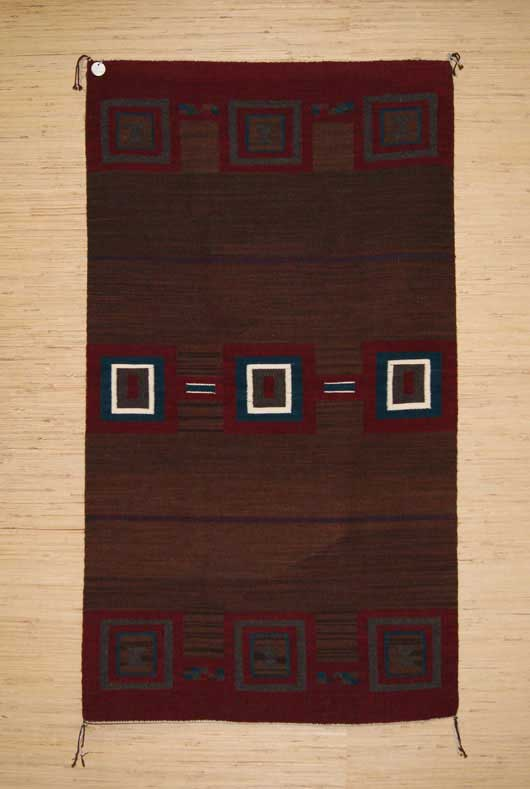 Navajo Second Phase Chief Blanket Style Rug LR1 Photo 006