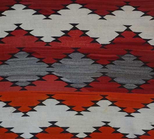 Navajo Serape Blanket 1021 Photo 003