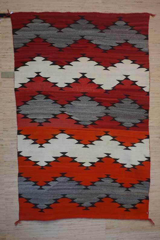 Navajo Serape Blanket 1021 Photo 001