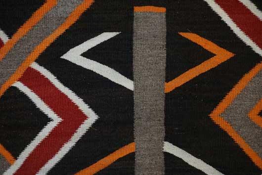 Navajo Transitional Blanket 1118 Photo 002
