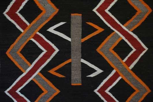 Navajo Transitional Blanket 1118 Photo 003