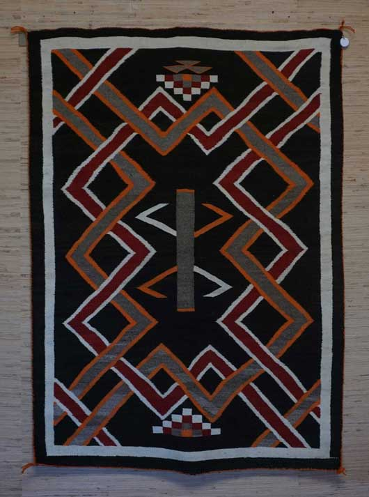 Navajo Transitional Blanket 1118 Photo 004
