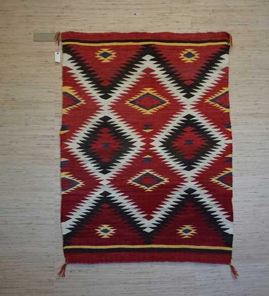 Navajo Transitional Eye Dazzler Blanket 902