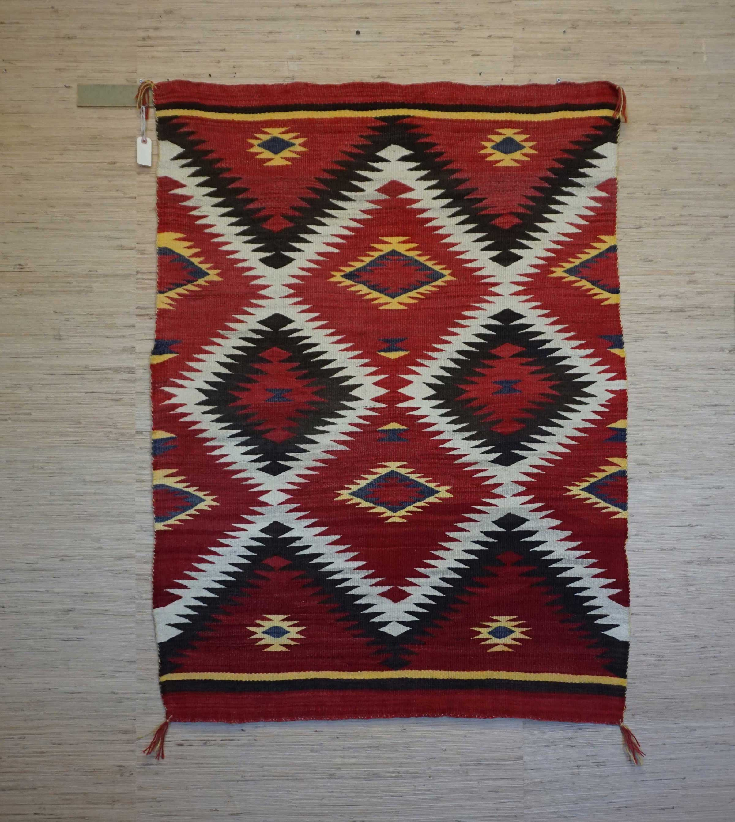 Navajo Transitional Eye Dazzler Blanket 902 Charley S