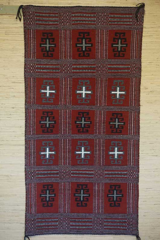 Navajo Two Faced Twill Rug 1040