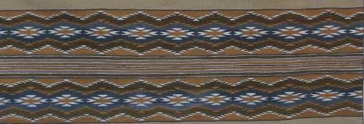 Navajo Wide Ruins Weaving 1098 Photo 002
