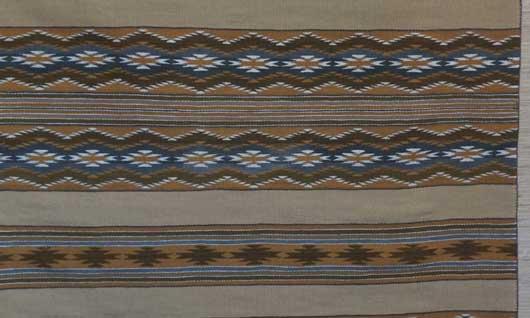 Navajo Wide Ruins Weaving 1098 Photo 003