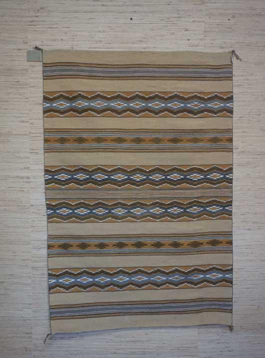 Navajo Wide Ruins Weaving 1098 Photo 001