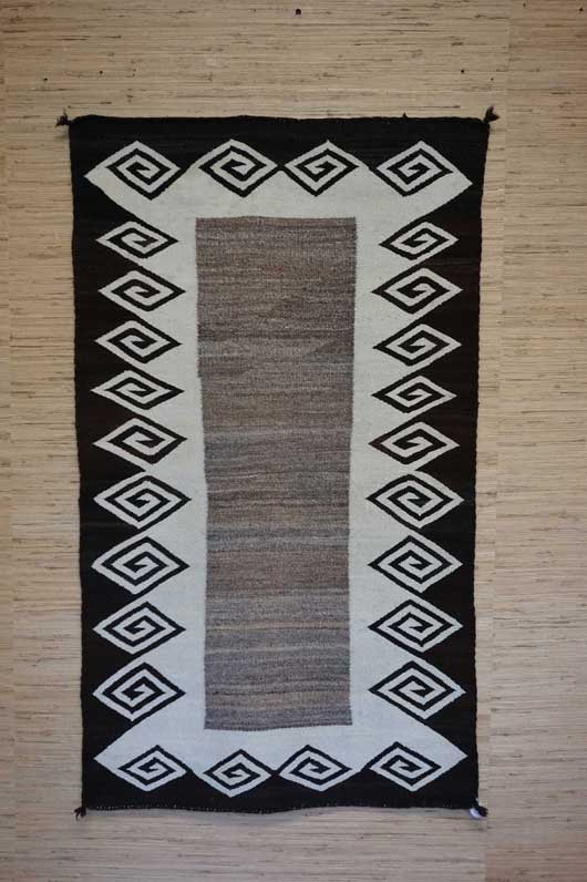 Open Field Navajo Double Saddle Blanket 471