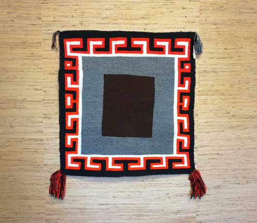 Open Field Navajo Single Saddle Blanket 955