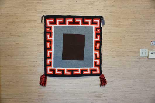 Open Field Navajo Single Saddle Blanket 955