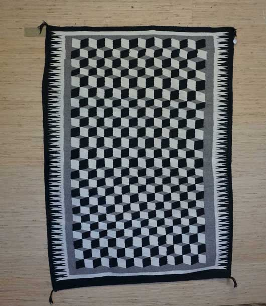 Optical Navajo Weaving 100 for Sale