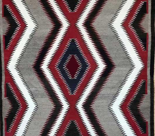 Red Mesa Navajo Rug 1122 Photo 003