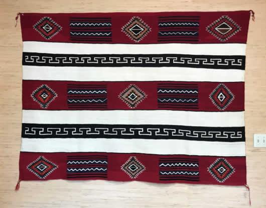 Red Mesa Navajo Rug 1142 Photo 001