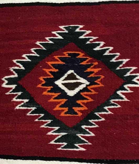 Red Mesa Navajo Rug 1142 Photo 007