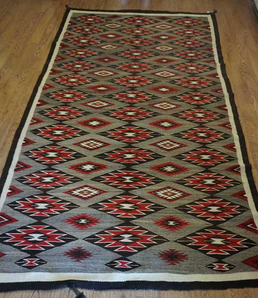 Red Mesa Navajo Rug for Sale 1095 Featured Navajo Rug