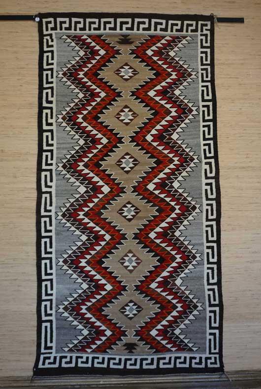 Antique Red Mesa Navajo Rug for Sale 1149