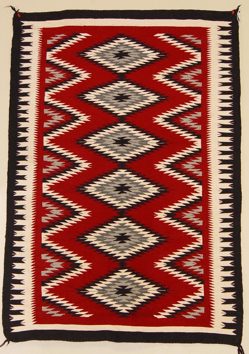 Circa 1930 Ganado Navajo Rug