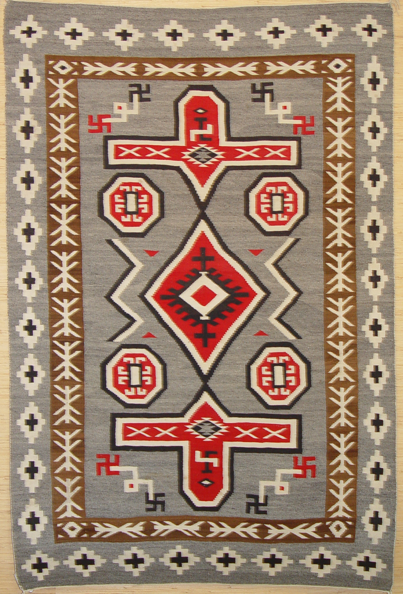 Old Crystal Navajo Rug