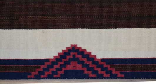 Second and Third Phase Navajo Chief's Blanket