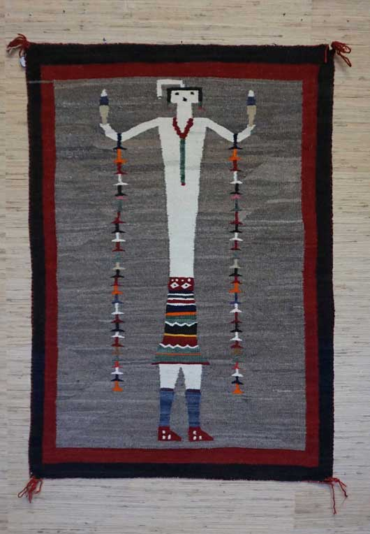 Single Yei Navajo Rug for Sale 960