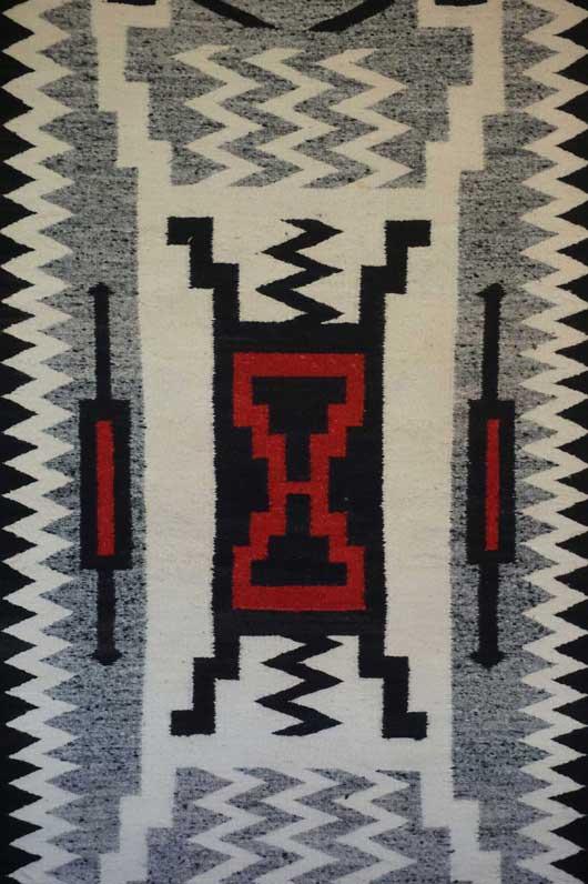 Storm Pattern Navajo Rug 1094 Photo 002