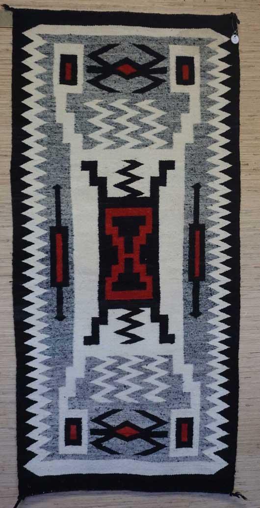 Storm Pattern Navajo Rug 1094 Photo 003