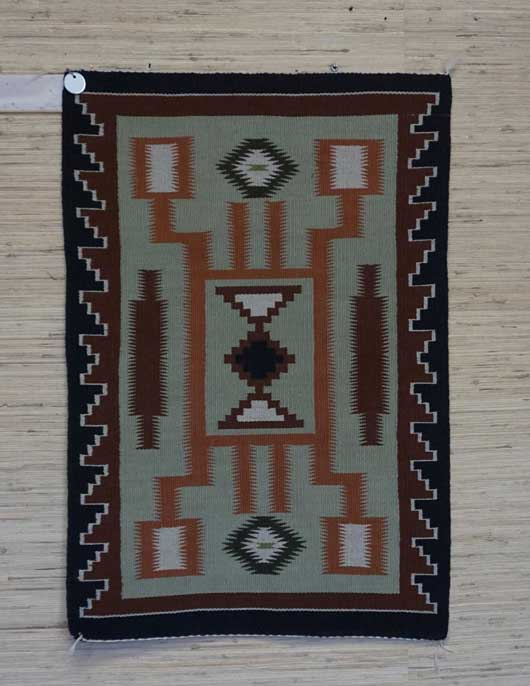 Storm Pattern Navajo Rug for Sale 915 for Sale