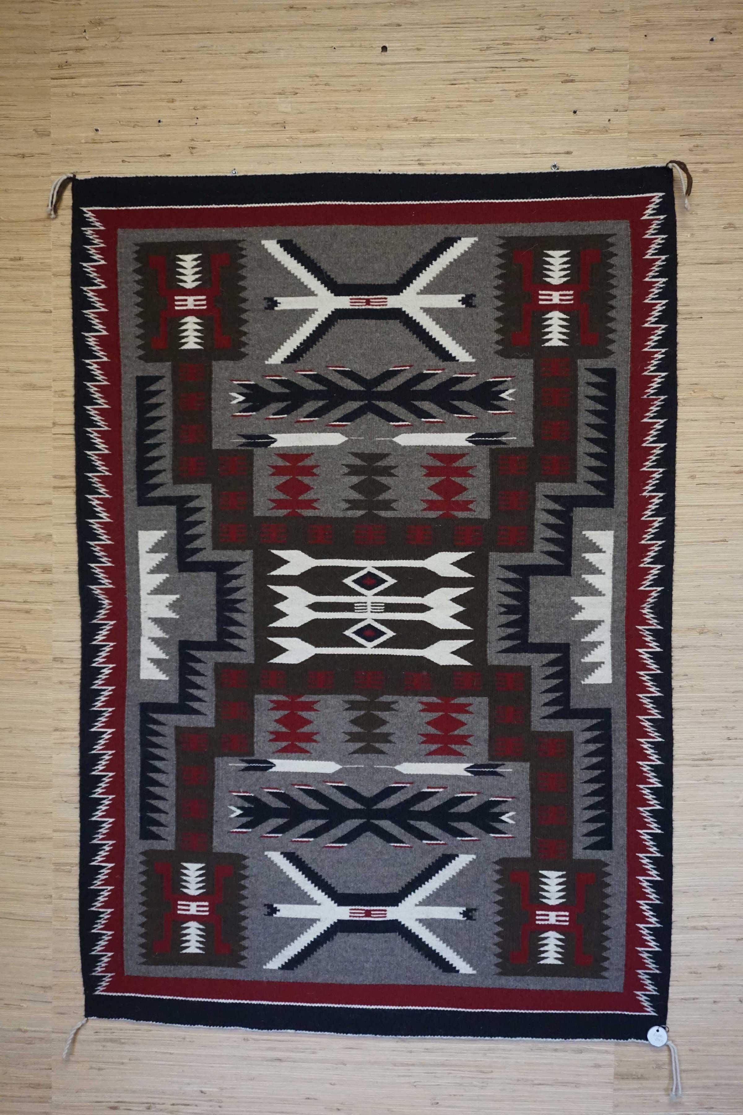 Storm Pattern Navajo Rug For Sale 964 Charley S Navajo