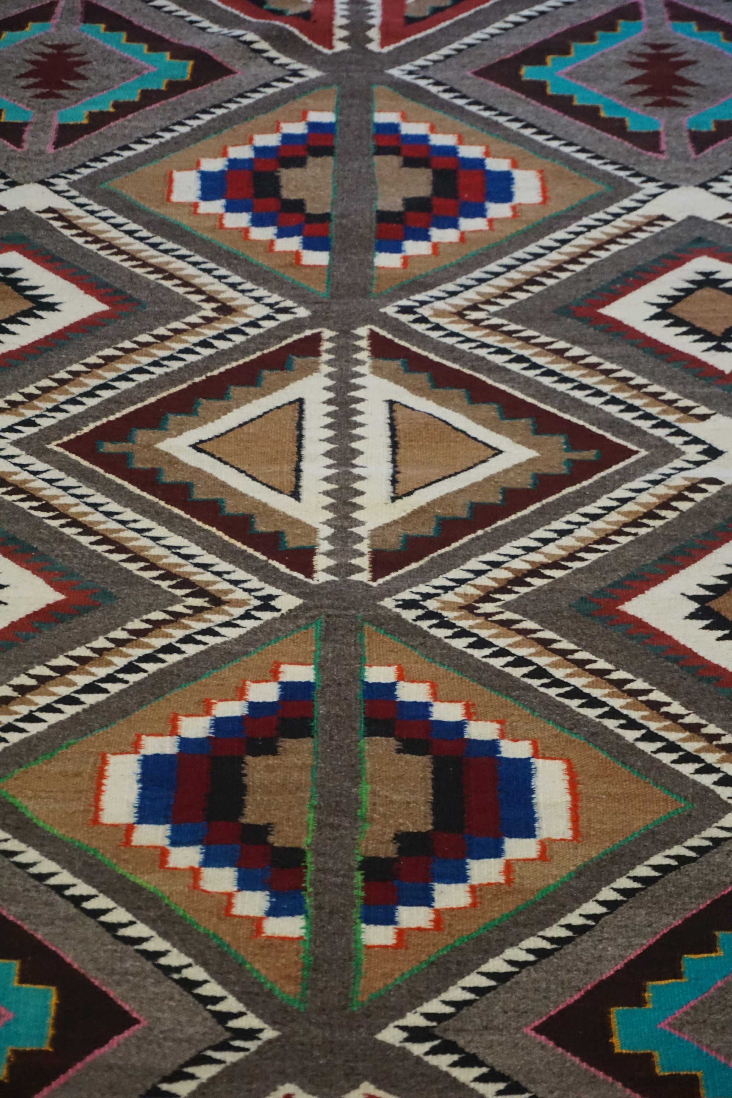 Teec Nos Pos Navajo Rug 1069 Charley S Navajo Rugs For Sale