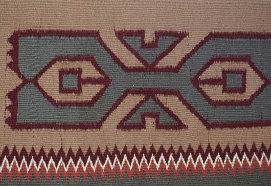 Teec Nos Pos Navajo Rug
