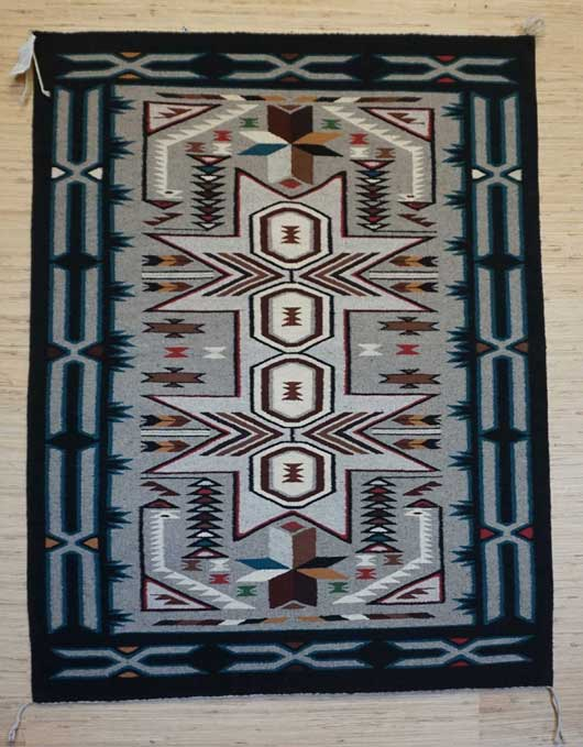 Teec Nos Pos Navajo Rug 971 for Sale