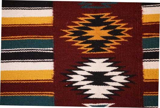 Teec Nos Pos Navajo Rug by Vicki Nackai 934