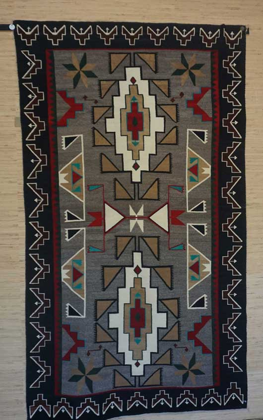 Teec Nos Pos Navajo Rug for Sale 1073