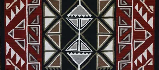 Teec Nos Pos Navajo Rug Weaving for Sale by Master Weaver Lucy Begay 547
