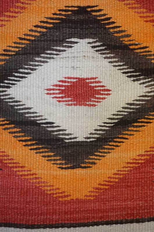Transitional Eye Dazzler Navajo Blanket 1018