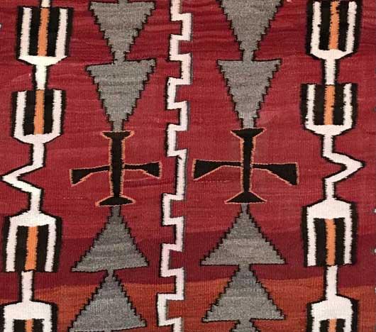 Transitional Navajo Rug 1123 Photo 002