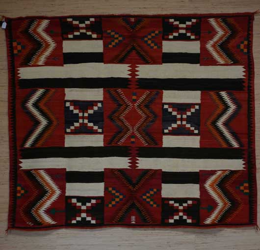 Red Mesa Navajo Rug for Sale 1121