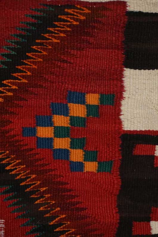 Variant Navajo Rug with Germantown Yarn 1134 Photo 002