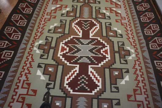 Very Large Burntwater Navajo Rug for Sale 1009 for Sale