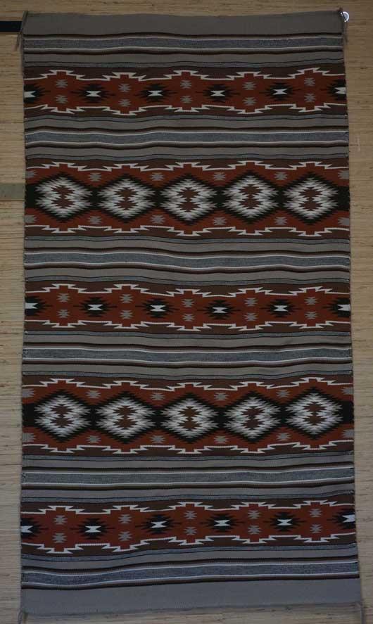 Contemporary Wide Ruins Navajo Rug for Sale 1126