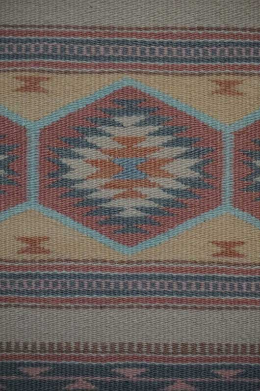 Wide Ruins Navajo Weaving by Emma Roan 982 for Sale
