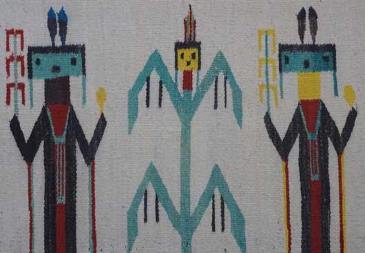 Yei Navajo Rug 1027