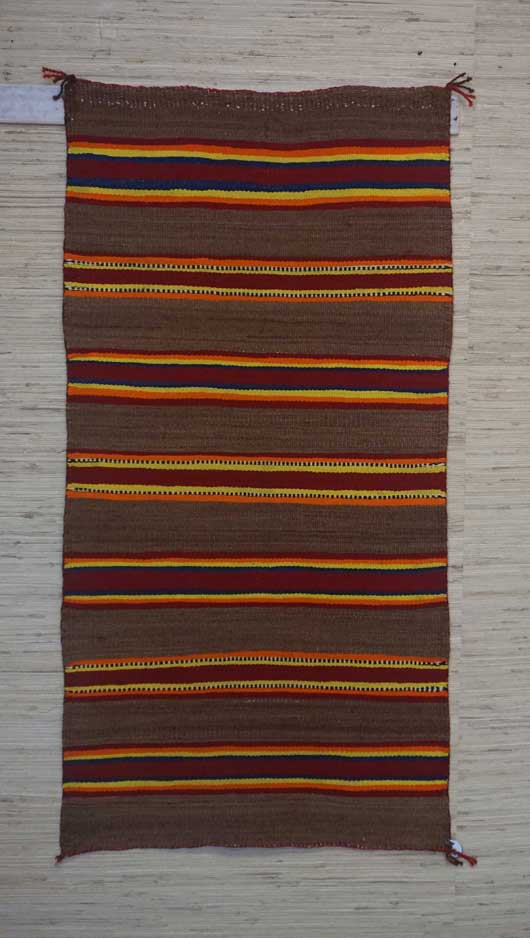 Youth Navajo Double Saddle Blanket 974