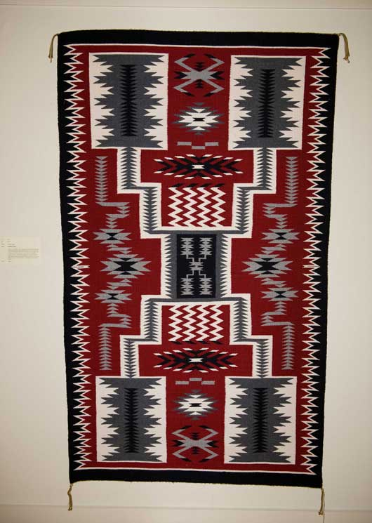 Storm Pattern Navajo Rug 001 Charley S Navajo Rugs For Sale